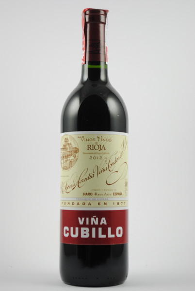 2012 VIÑA CUBILLO Crianza, Lopez de Heredia
