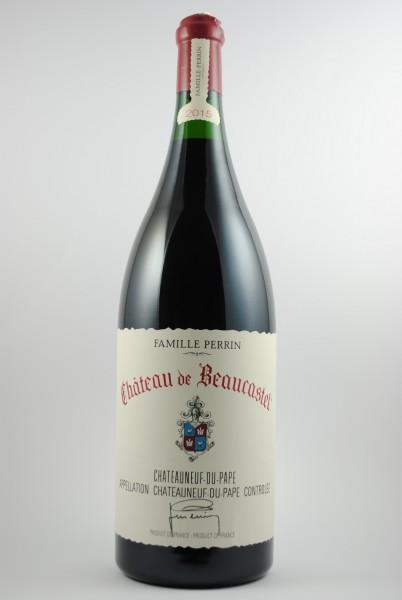2015 Châteauneuf-du-Pape JEROBOAM Kein Versand, Beaucastel
