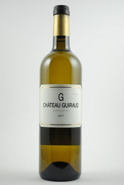 2019 G du Guiraud Bordeaux blanc sec