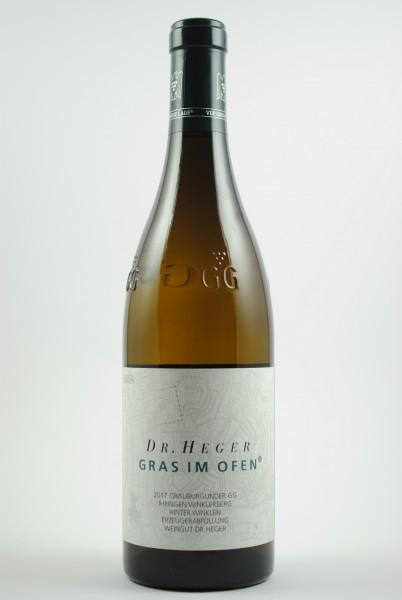 2017 Grauburgunder Grosses Gewächs Winklerberg Gras im Ofen QbA trocken, Heger