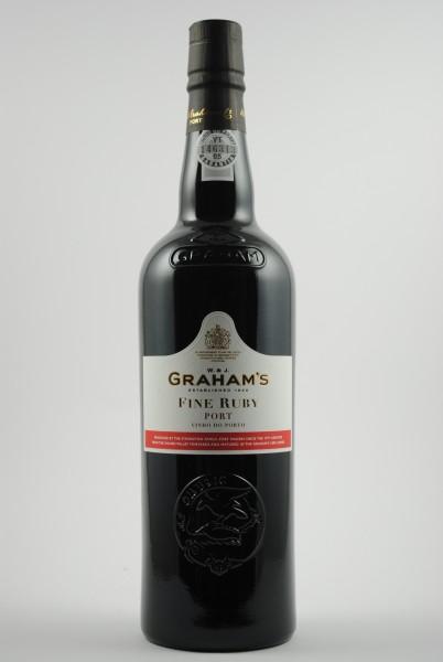 FINE RUBY PORT, Graham's