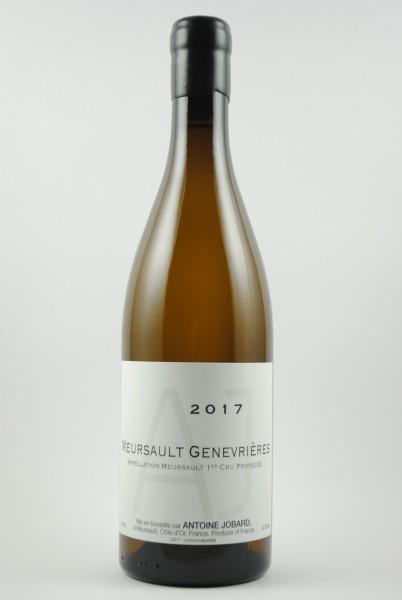 2017 Meursault 1er Cru Les Genevrières, Jobard