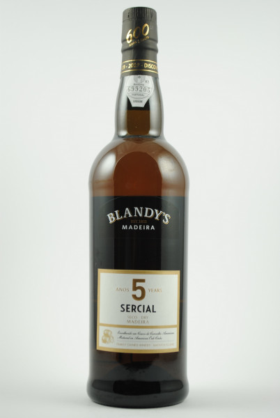 Madeira SERCIAL 5 years, Blandy's