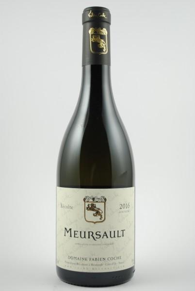 2016 Meursault, Coche