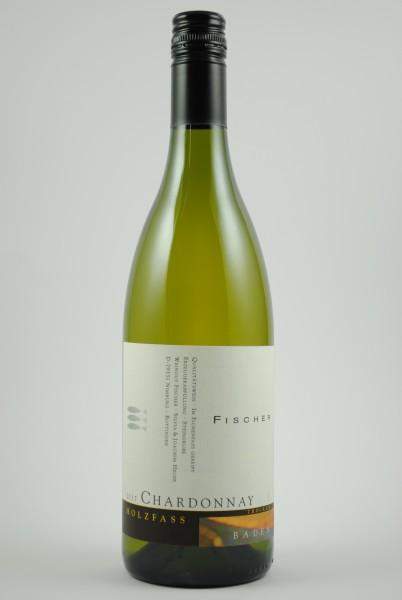 2018 Chardonnay Holzfass QbA trocken, Fischer