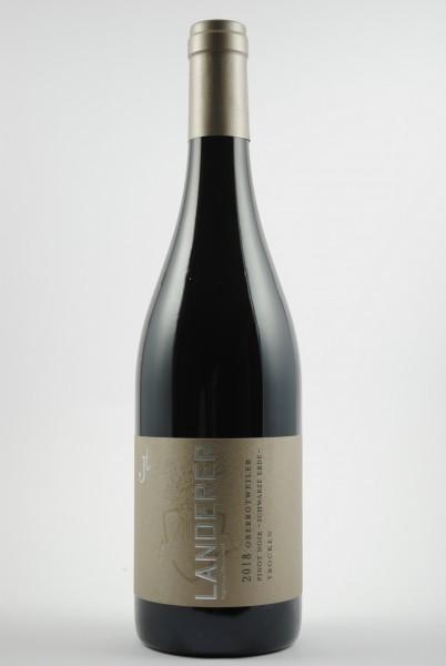 2018 Pinot Noir Schwarze Erde QbA trocken, Johannes Landerer