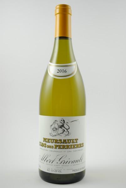 2016 Meursault 1er Cru Clos des Perrières, Grivault