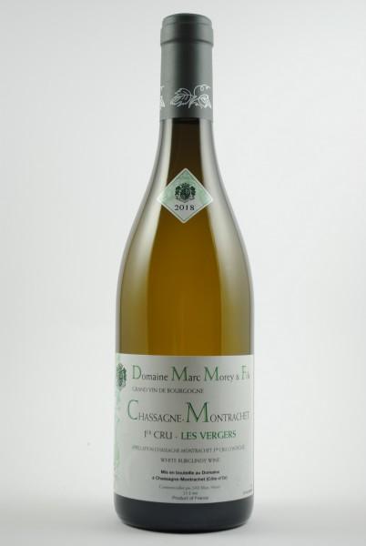 2018 Chassagne-Montrachet 1er Cru Les Vergers, Morey