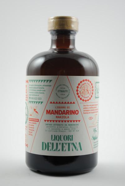 Liquore di Mandarino Marzola - Mandarinenlikör aus Sizilien