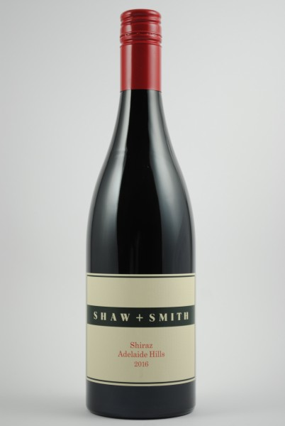 2016 Shiraz Adelaide Hills, Shaw & Smith