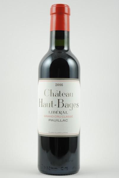 2016 Château Haut-Bages Libéral 5e Grand Cru Classé, Halbe