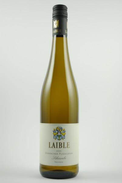 2020 Scheurebe Plauelrain (VDP 1.Lage) QbA trocken, Laible