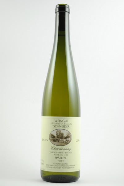 2016 Chardonnay Floh Spätlese trocken, Schneider