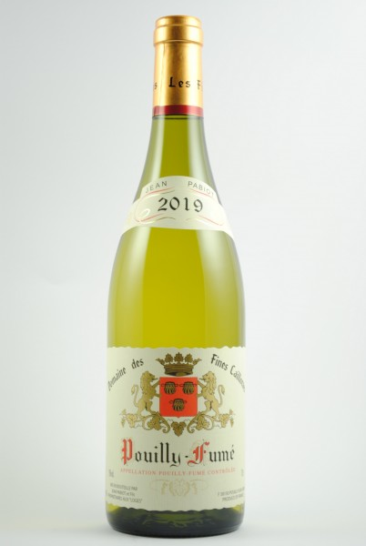 2020 POUILLY - FUME Fines Caillottes, Pabiot