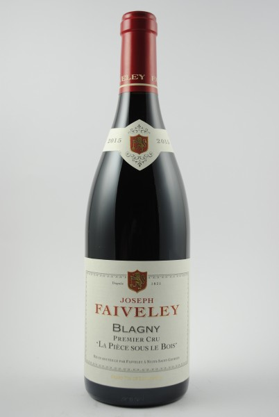 2015 Blagny 1er Cru La Pièse sous le Bois, Faiveley