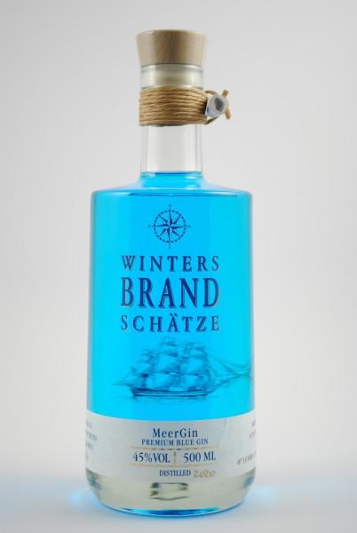 MeerGin Premium Blue Gin, Winters Brandschätze