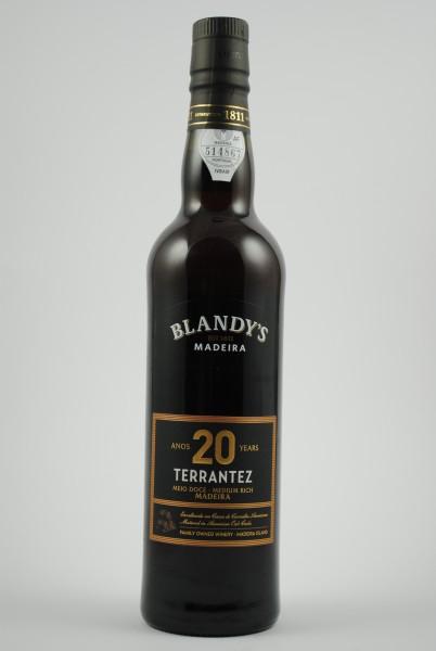 Madeira TERRANTEZ 20 years, Blandy's