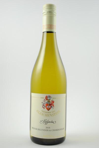 2019 Weissburgunder & Chardonnay Gutswein QbA trocken, Gleichenstein
