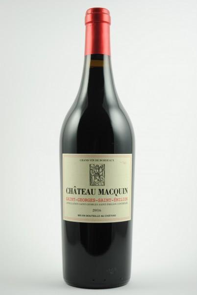2016 Château Macquin Saint Georges St. Emilion