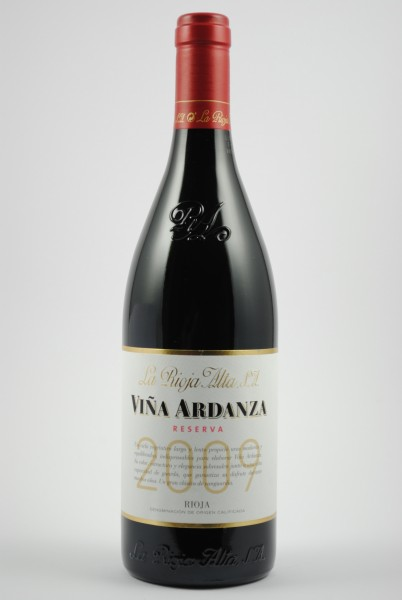2009 VIÑA ARDANZA Reserva, La Rioja Alta