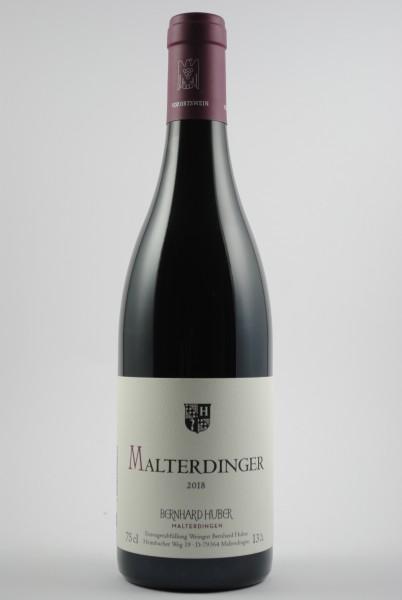 2018 Spätburgunder Malterdinger QbA trocken, Huber