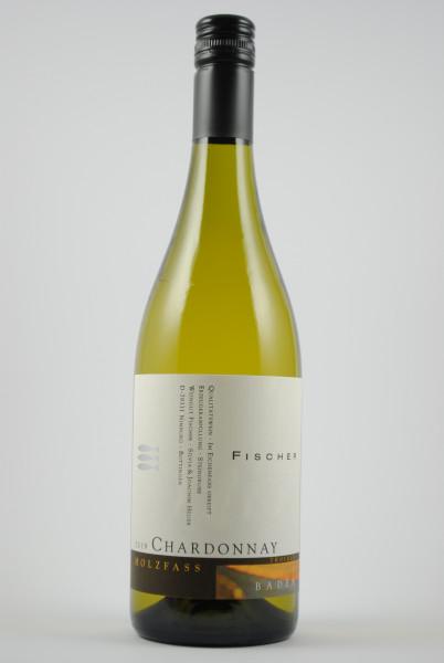 2019 Chardonnay Holzfass QbA trocken, Fischer