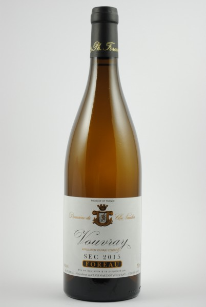 2015 Vouvray Sec