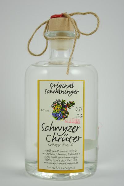 """""""Schwyzer Chrüter"""" Schweizer Kräuterbrand, Wekerle"""