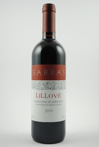 2018 LILLOVÈ Cannonau di Sardegna, Gabbas