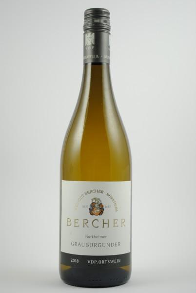 2019 Burkheimer Grauburgunder (VDP Ortswein) QbA trocken, Bercher