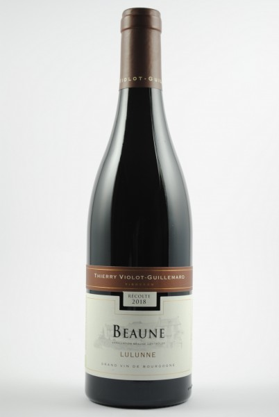 2018 Beaune Lulunne, Violot Guillemard