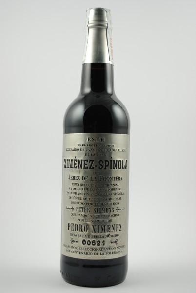 Ximénez-Spínola PX Muy Viejo Commemorative Edition 1918-2018