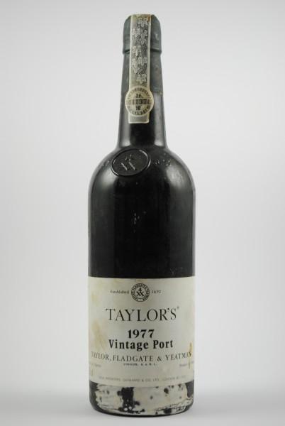 1977 Vintage Port, Taylor`s