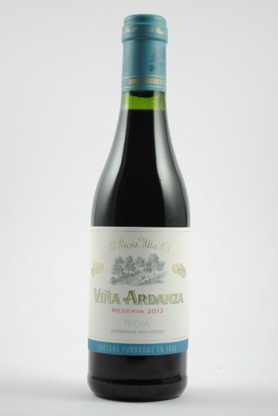 2012 VIÑA ARDANZA Reserva HALBE, La Rioja Alta