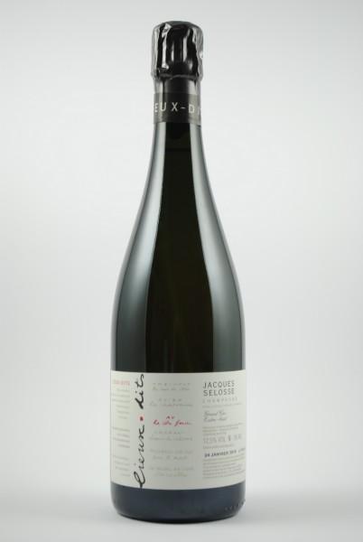 Champagner Lieux Dits Ay Extra Brut (Deg. 01/19), Jacques Selosse