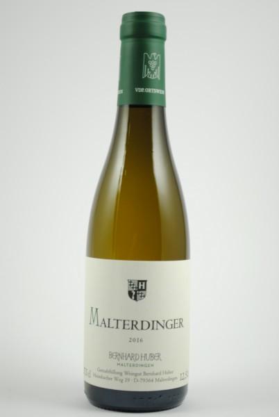 2016 Weissburgunder / Chardonnay Malterdinger QbA trocken HALBE, Huber