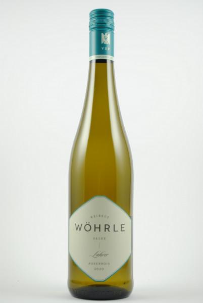 2020 Lahrer Auxerrois (VDP Ortswein) QbA trocken, Wöhrle