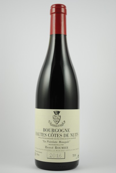 2017 Hautes Côtes de Nuits La Poirelotte - Monopole- , Roumier