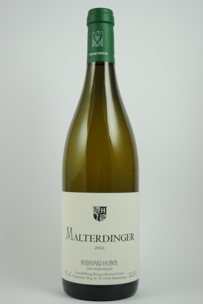 2017 Weissburgunder / Chardonnay Malterdinger QbA trocken, Huber