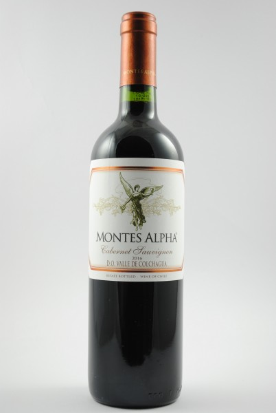 2016 Cabernet Sauvignon, Montes Alpha