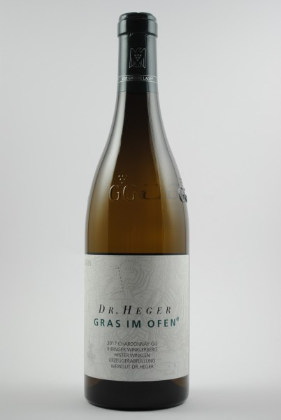 2017 Chardonnay Grosses Gewächs Hinter Winkeln Gras im Ofen QbA trocken, Heger