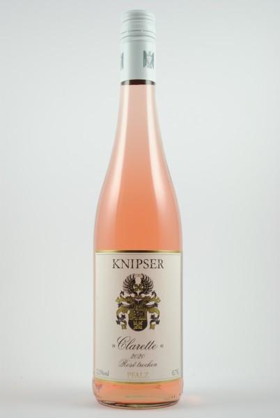 2020 Clarette Rosé QbA trocken, Knipser