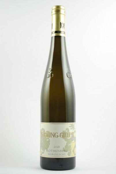 2018 Riesling Grosses Gewächs Rothenberg QbA trocken (Wurzelecht), Kühling-Gillot