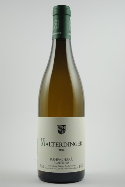 2018 Weissburgunder / Chardonnay Malterdinger QbA trocken, Huber