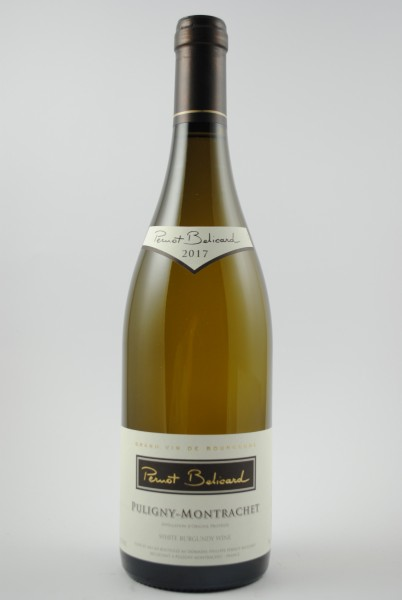2017 Puligny-Montrachet, Pernot-Belicard