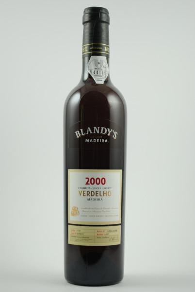 2000 Madeira Verdelho Colheita, Blandy's