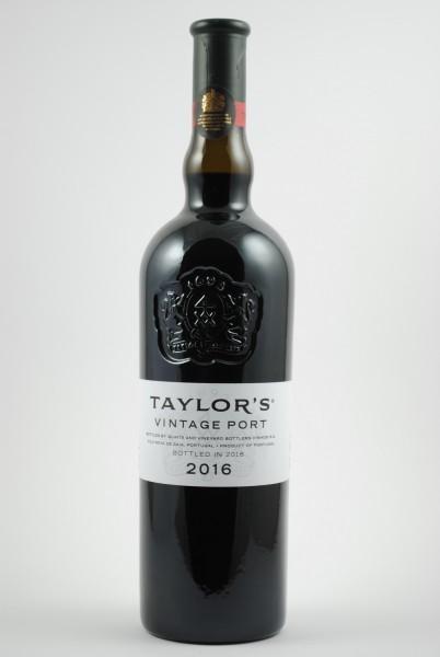 2016 Vintage Port, Taylor`s