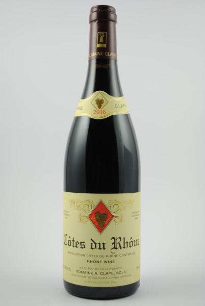 2016 Côtes du Rhône, Clape