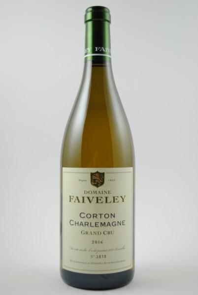 2016 Corton-Charlemagne Grand Cru, Faiveley