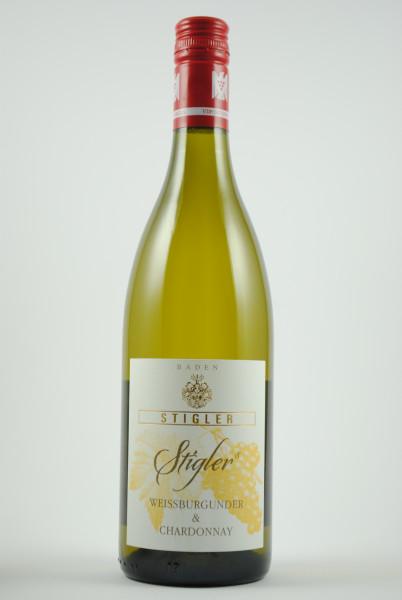2019 Weissburgunder & Chardonnay QbA trocken, Stigler